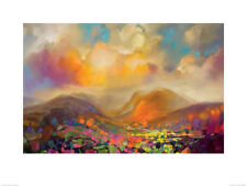 Scott Naismith Unframed Art Prints of Scotland Seascapes Landscape Large Range