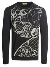 VERSACE JEANS COUTURE Pullover B5GPA800 56702 schwarz