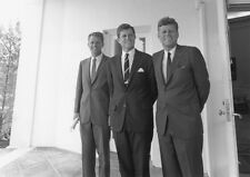 John F. Kennedy, Robert Kennedy, And Edward Ted Kennedy. Print/Poster (d4904)