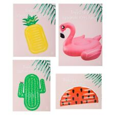 Inflatable Giant Flamingo, Pineapple, Cactus, Watermelon Pool Float Ring Raft