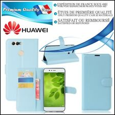 Etui Coque Housse Cuir PU Leather Stand Wallet Case Cover Huawei Nova 2 + (plus)