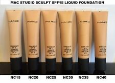 Studio Sculpt Liquid Foundation SPF15 40ml Liquid Foundation - NC15, NC20, NC25+