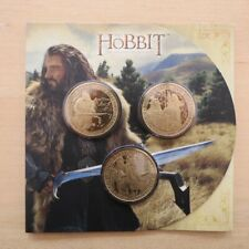 The Hobbit An Unexpected Journey Brilliant Uncirculated $1 Dollar Coins & Set