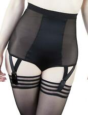 Playful Promises Candace Girdle Panty Brief PPHW3038 Black Sexy Lingerie