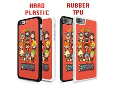 One Piece Anime Manga Emoticons Hard or Rubber Case Cover for iPhone