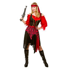 Shipwrecked Pirate Caribbean Ladies Womens Sexy Fancy Dress Costume Outfit 2158