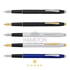 CROSS CLASSIC CENTURY FOUNTAIN PEN - 5 Modern Finishes Available