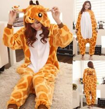 kigurumi intero donna animal Pigiama giraffa tuta carnevale feste party costumes