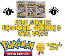 Fossil Set 1st Edition Pokemon Card Singles: Pokemon & Trainer Cards Near Mint