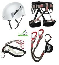 Set Escalada lacd Vía Ferrata Pro Evo + lacd START Banda + Salewa PURA Casco