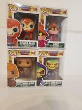 FUNKO POP TV! MOTU HE-MAN Masters of the Universe figures.