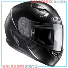 CASCO INTEGRALE MOTO HJC CS-15 SPACE MC5SF NERO BIANCO
