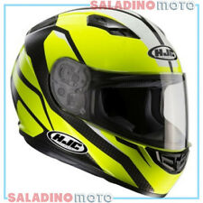 CASCO INTEGRALE MOTO HJC CS-15 SEBKA MC4H GIALLO FLUO NERO