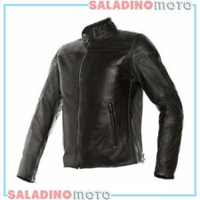 GIUBBOTTO MOTO PELLE DAINESE MIKE LEATHER JACKET NERO 1533704001011