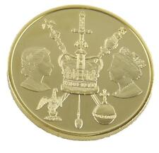 Royal Mint Reina Isabel II ANIVERSARIO DE DIAMANTE 2012 medalla