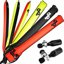 AP Diving Delayed Surface Marker Buoys..self inflating, various colours & sizes