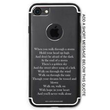 You'll Never Walk Alone iPhone Case Personalised Name Liverpool LFC Football Fan
