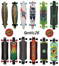Santa Cruz Longboard Rob mano Lion STRIP Kevlar Drop throuhg Longboard
