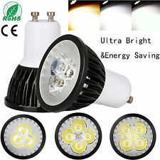 REGULABLE GU10 MR16 gu5.3 LED Luces de FOCO BOMBILLA Epistar Lámpara 9w 10w