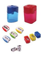 Plastic and Metal Pencil Sharpeners Bulk Multi Pack Deals-One Hole/Two Hole Type