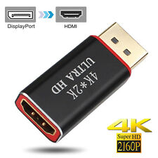 New DisplayPort DP to HDMI Male Female Adapter Converter 1080P@30Hz / 2160P@30Hz