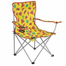 Folding Camping Chair Lightweight Beach Festival Outdoor Travel Seat Watermelon