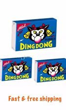 DING DONG ORIGINAL BUBBLE GUM HALAL SWEETS NEW KIDS CHEWING FRUITY