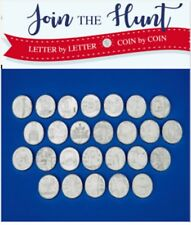 10p A-Z Alphabet Ten Pence Coin CERTIFIED EARLY STRIKE Coins, MEDAL ALBUM UNC