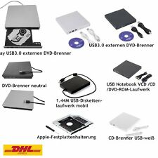CD DVD RW Brenner Slim USB extern Laufwerk CD Brenner Notebook Laptop Netbook CV