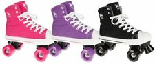 Rookie Rollerskates Canvas High Available In Pink Or Black