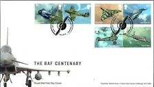 GB FDC 2018 RAF CENTENARY STAMPS MINIATURE SHEET RETAIL BOOKLET UNADDRESSED VFU
