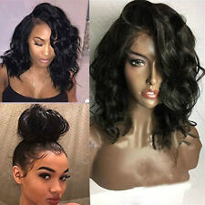 Women Lace Front Bob Wigs Brazilian 100% Human Remy Hair Wig With Baby Hair Wigs