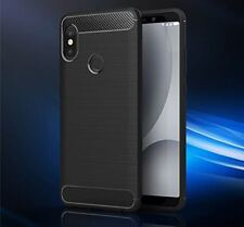 For▪ Redmi Note 5 pro || Luxury Premium Brushed_TPU_Carbon Fibre New Back Cover.