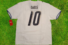 Maglia totti italia mondiale germany 2006 world cup 3 stars puma no match worn