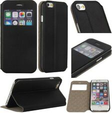 Apple iPhone Stylish Window Display Leather Stand Flip Case Cover
