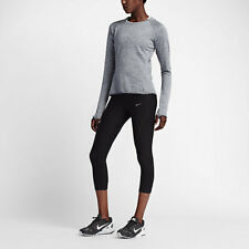 Nike Therma Sphere Element Women's Long Sleeve Running Top Shirt 812042 012 Grey