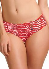FREYA ST LOUIS BIKINI BRIEF SIZE XL 16 18 LOW LEG RED WHITE BOTTOM 3502 NEW
