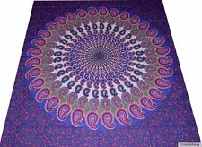 Colcha india Colcha cotinado pared Goa hippie Cortina Chaleco mandala 25