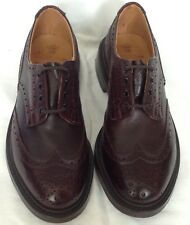 Trickers Men's Dark Brown Bourton Brogues. RRP £395
