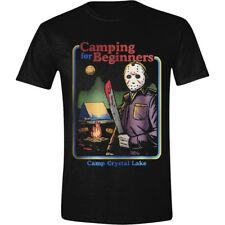 T-shirt Freddy vs. Jason Friday the 13th Camping for Beginners maglia Uomo