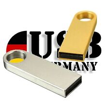 32gb 16gb 8gb 4gb 2gb USB Stick Mini METAL SE9 PLATA ORO von USB GERMANY