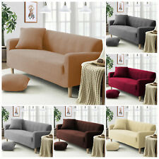 1/2/3SEATER SOFA CHAIR SETTEE PET PROTECTOR COVER ELASTIC FABRIC FURNITURE THROW