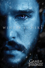 Game of Thrones - Winter is Here - Jon - Film Movie - Poster - Größe 61x91,5
