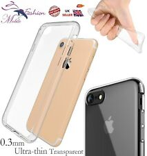 Protective Shockproof Transparent Silicone Clear Gel Case Cover For Apple iPhone