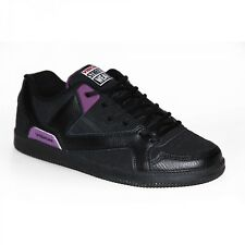 Baskets Homme samples shoes VISION STREET WEAR BALLISTIC BLACK PURPLE MEN