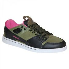 Baskets Homme samples shoes VISION STREET WEAR LIBERATOR BLACK OLIVE MEN