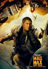MAD MAX; FURY ROAD Movie PHOTO Print POSTER Film Art Tom Hardy George Miller 009