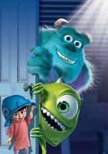 MONSTER'S INC Movie PHOTO Print POSTER Textless Film Art Sully Mike Pixar 001