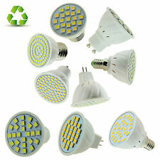 E27/E14/GU10/MR16 LED FARETTO 3W 4W 5W 6W 7W lampadina