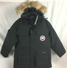 NEW Canada Goose EXPEDITION PARKA BLACK MENS JACKET M L AUTHENTIC HOLOGRAM 4565M